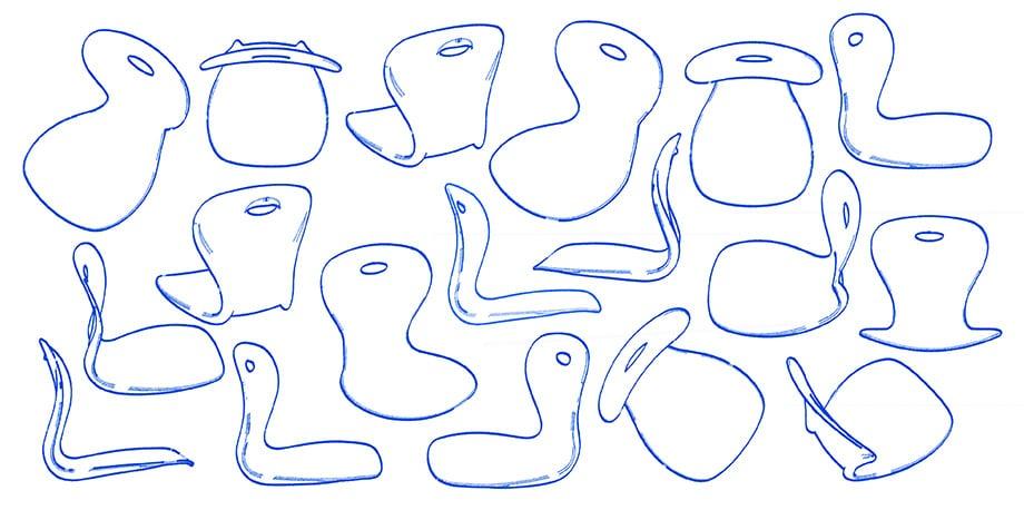 Lotus Sketches