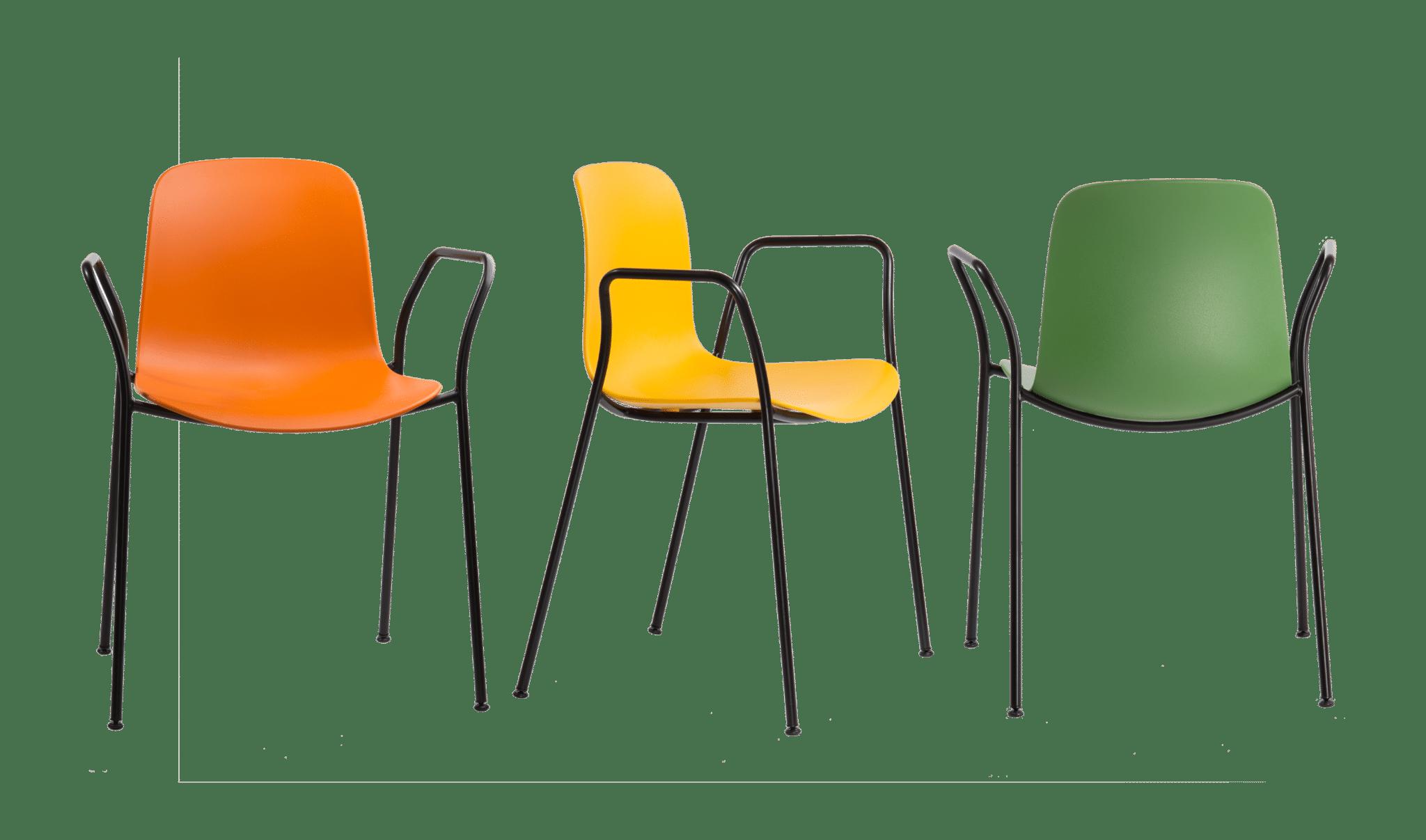 Flux 4 Leg Arm Chair
