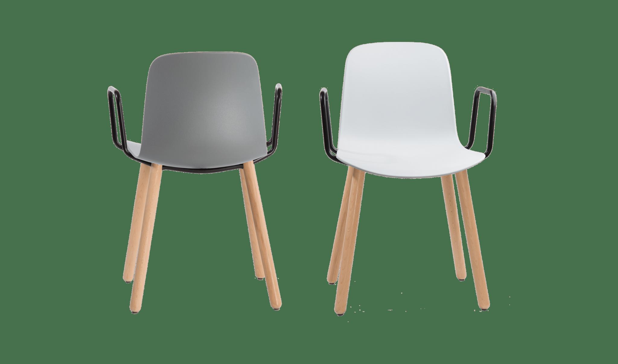 Flux Wood Arm Chair