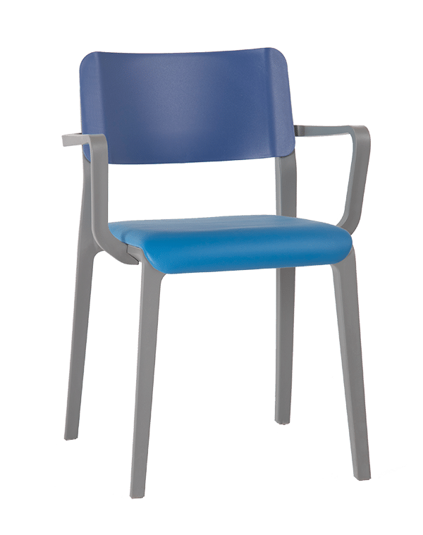 MOJO SEMI UPHOLSTERED ARM CHAIR